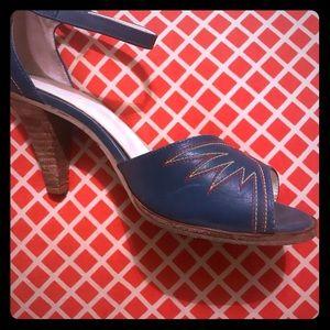 Vintage Capezio western heels